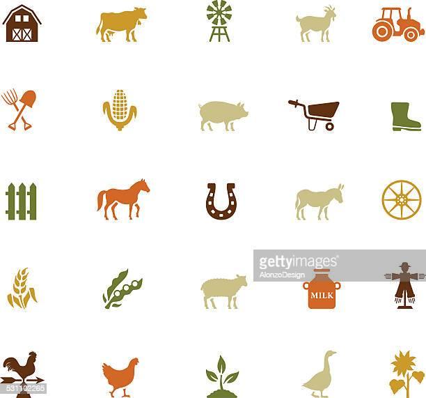 Farm Icon-Set