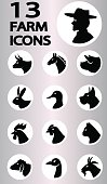 farm icons collection