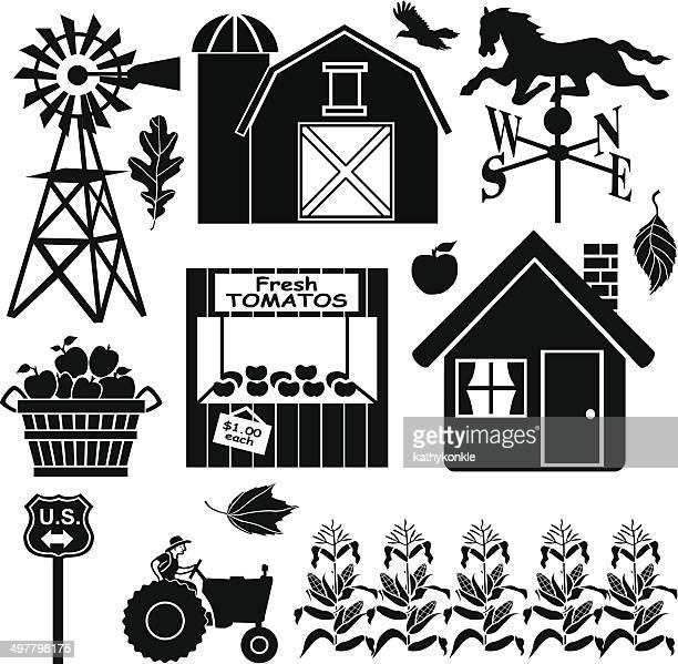 farm in the country design elements