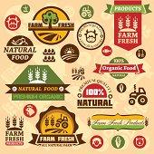 farm logo labels and designs