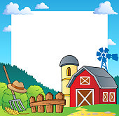 Farm theme frame 1