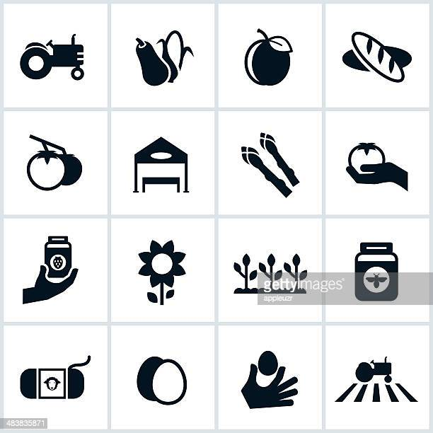 Farmers Market Icons