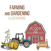 Farming agricultural instruments