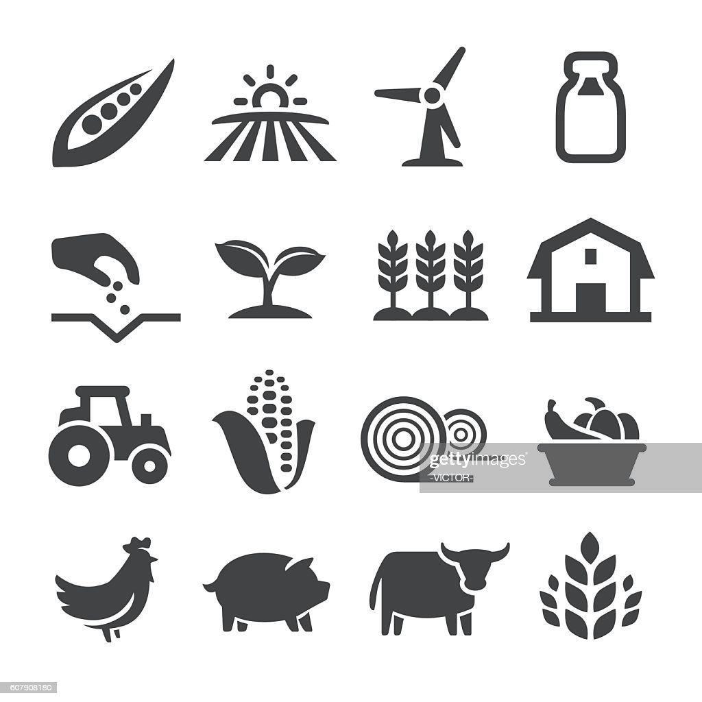 Farming Icons - Acme Series