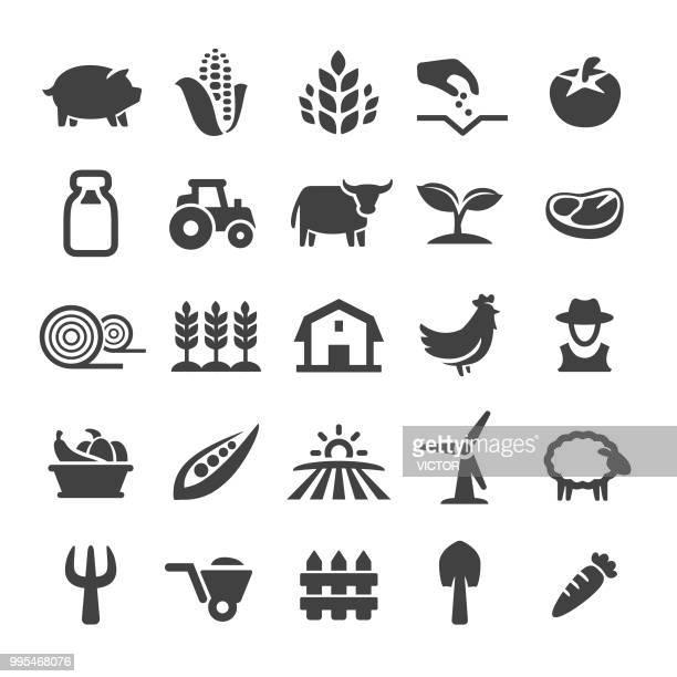 Farming Icons Set - Smart Series