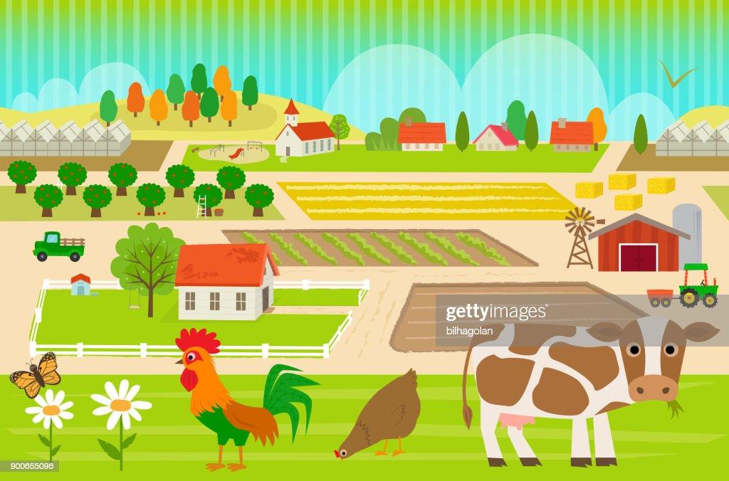 Farmland Pattern