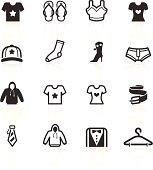 Fashion & Apparel Icons - minimo series