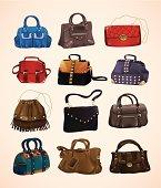 Fashion bags set