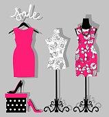 Fashion boutique for design fashion