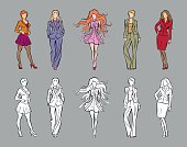 Fashion Catwalk Models