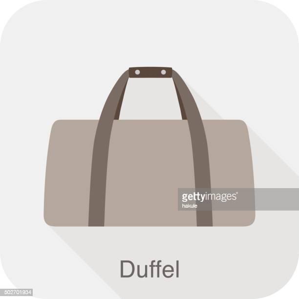 ファッション女性のバッグシリーズ、ベクトル、ダッフルバッグ - スポーツバッグ点のイラスト素材/クリップアート素材/マンガ素材/アイコン素材