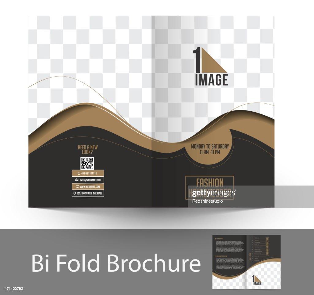 Fashion Hairdresser Bi-Fold Brochure