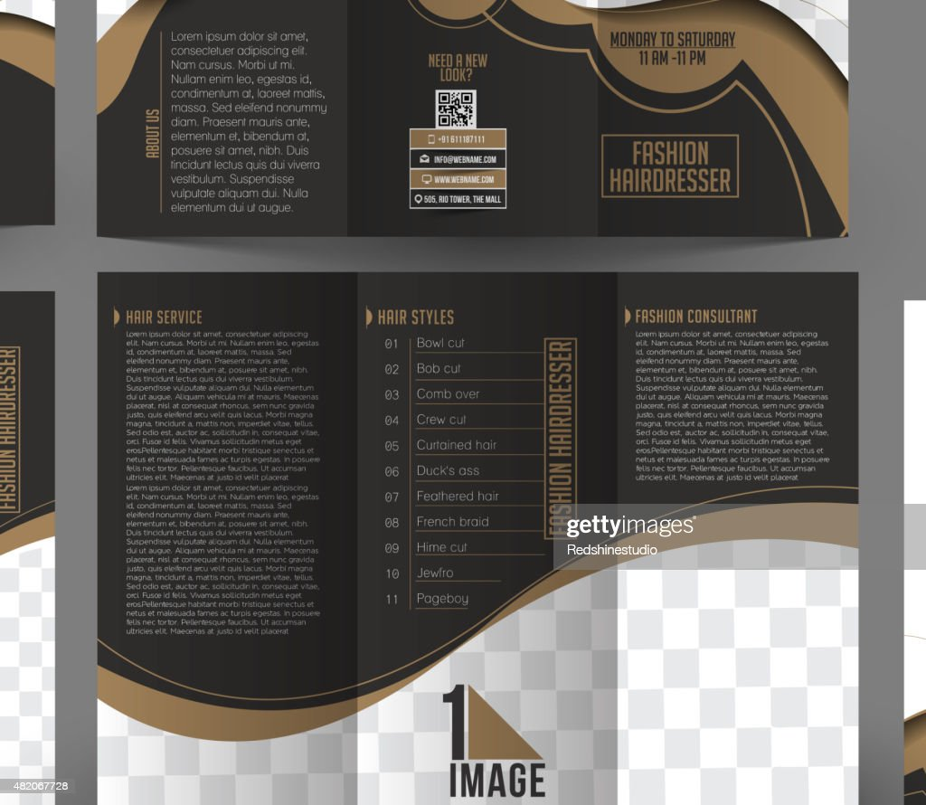 Fashion Hairdresser Corporate Stationery