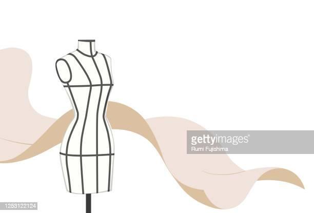illustrations, cliparts, dessins animés et icônes de industrie de la mode - haute couture