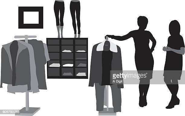 clothing store stock illustrations and cartoons getty images