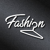 fashion logo design vector