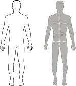 Menschlicher Körper Mann