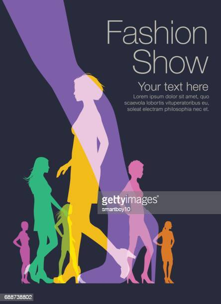 fashion models - high heels stock illustrations, clip art, cartoons, & icons