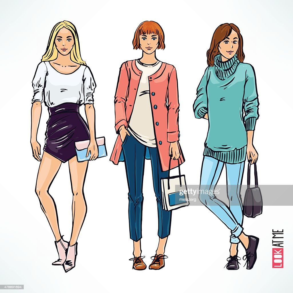 fashion modern girl