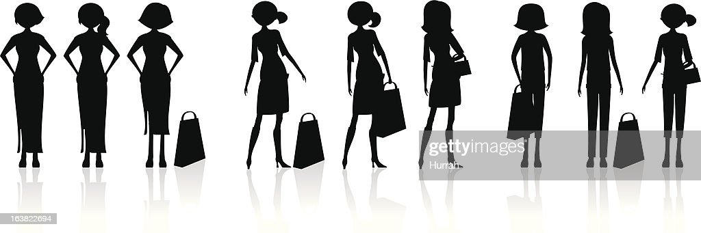 Fashion Shopping_Silhouette