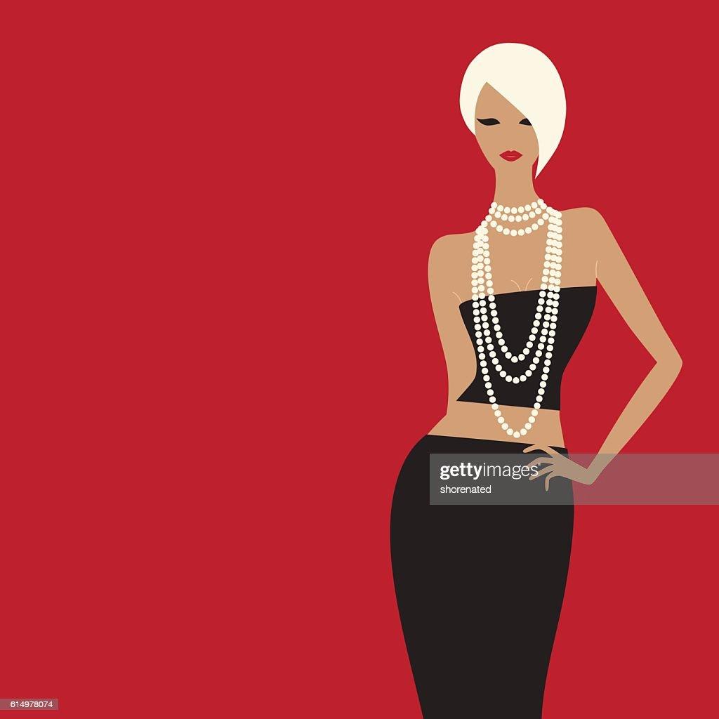 fashion woman.