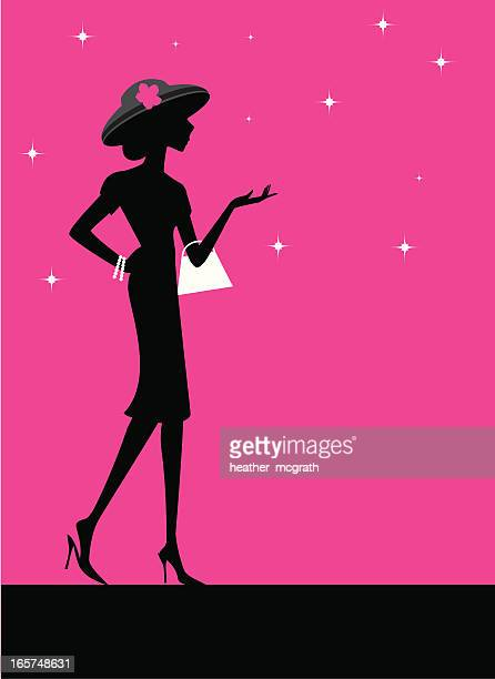 Fashionable Woman in Hat