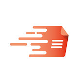 Fast document, speed page logo.