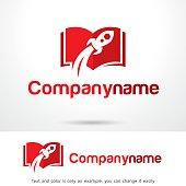 Fast Ebook Symbol Template Design Vector, Emblem, Design Concept, Creative Symbol, Icon
