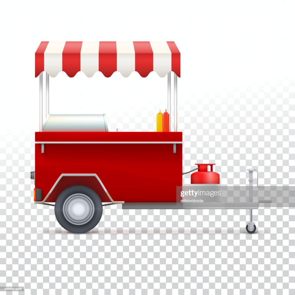 Fast food cart, street shop.