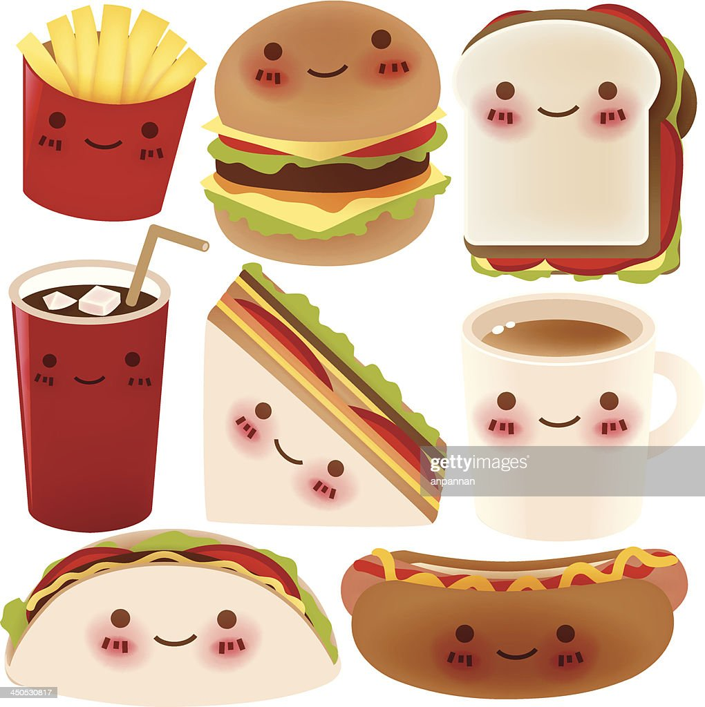 Fast Food Collection - Vector File EPS10