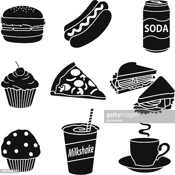 fast food diet - drink can stock illustrations, clip art, cartoons, & icons