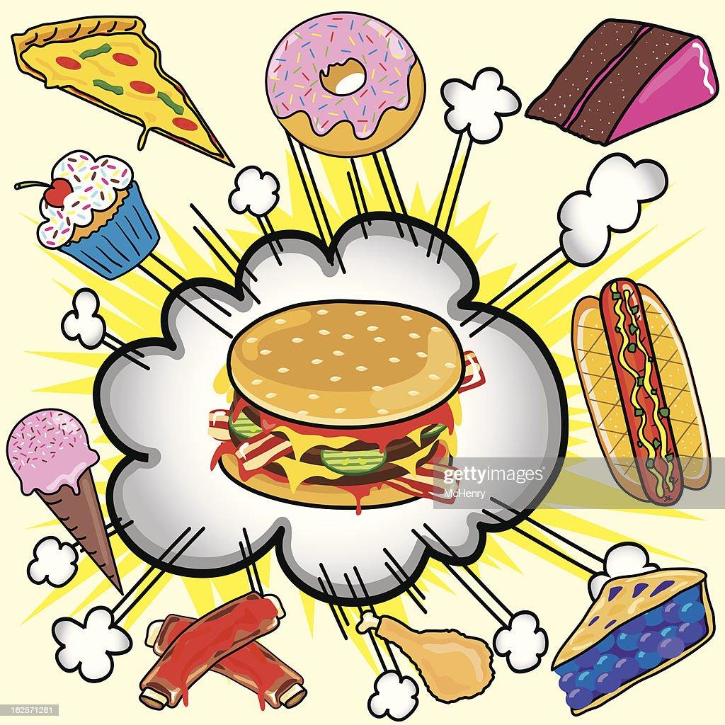 Fast Food Explosion!
