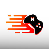 fast gaming icon design