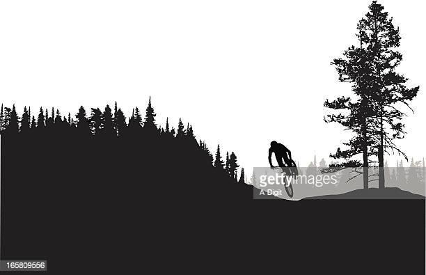 ilustraciones, imágenes clip art, dibujos animados e iconos de stock de fastmounting - mountain bike