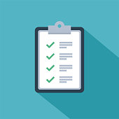 Fast service brief solution or business project management vector icon of checklist survey or opinion poll