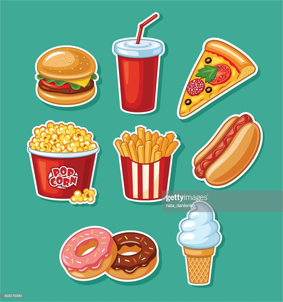 fastfood - Illustration
