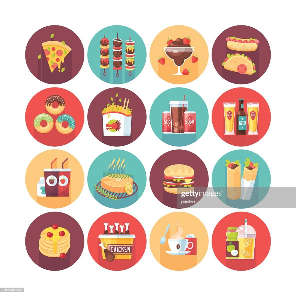 Fastfood, junk food, snack meal.
