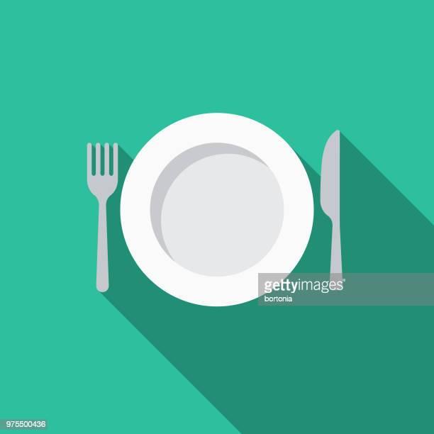 fasting flat design ramadan icon - fasting activity stock illustrations, clip art, cartoons, & icons
