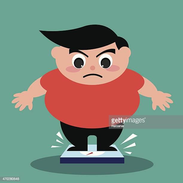 60 Top Overweight Stock Illustrations Clip Art Cartoons