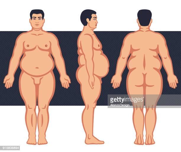 Fat Male Body