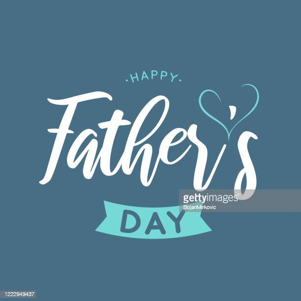 father's day background, poster. vector - fathers day stock illustrations