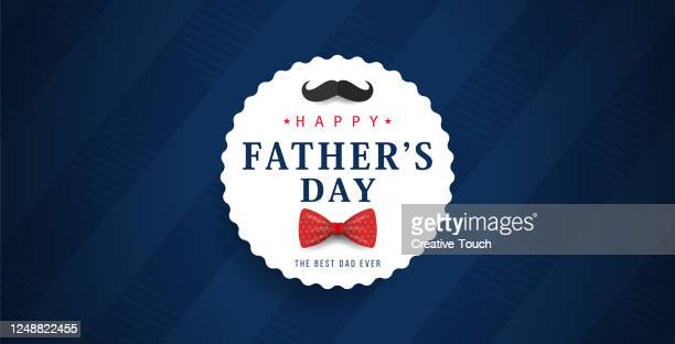 father's day banner - fathers day stock illustrations