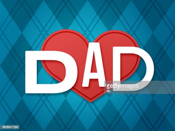 father's day love dad - fathers day stock illustrations