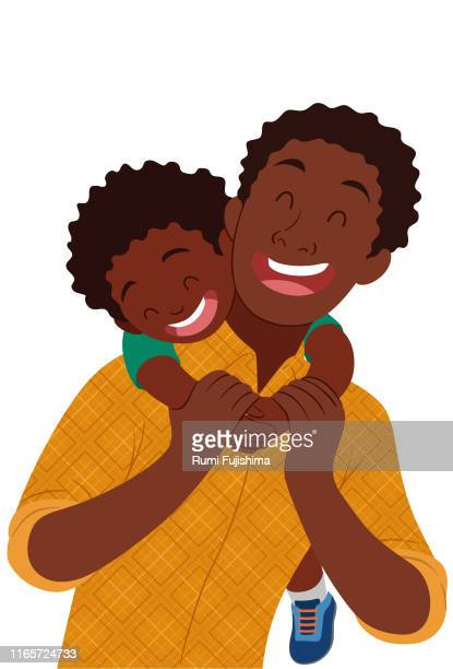 father's day - parent stock illustrations