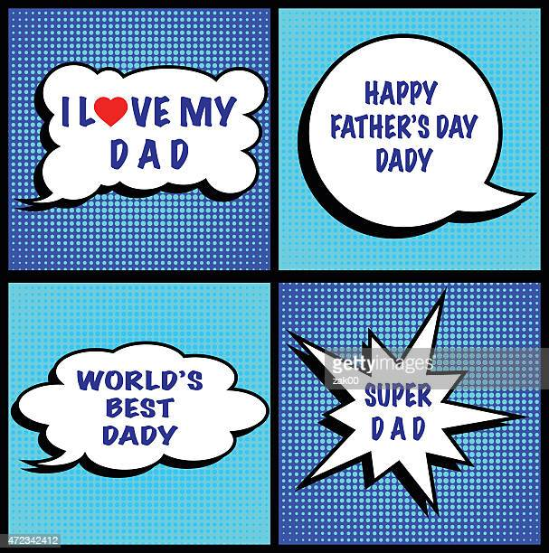 fathers day - fathers day stock illustrations