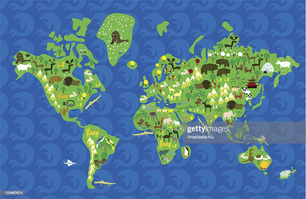 fauna of the world