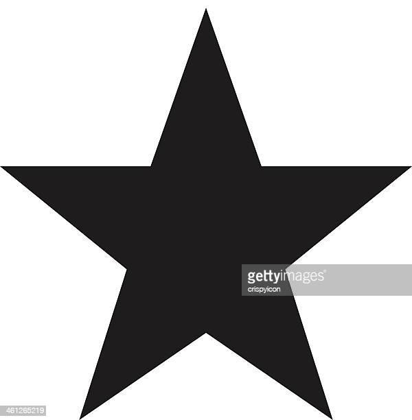 illustrazioni stock, clip art, cartoni animati e icone di tendenza di icona dei preferiti - a forma di stella