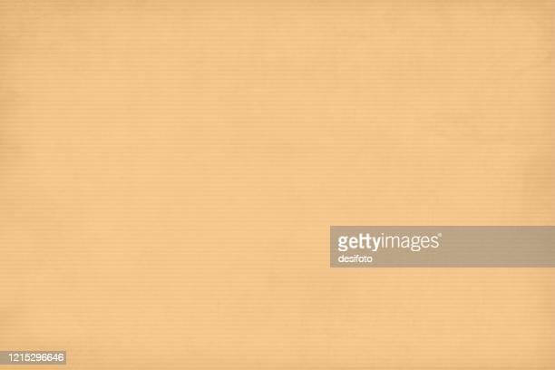 illustrazioni stock, clip art, cartoni animati e icone di tendenza di sfondo colorato biadito simile a un foglio di carta ondulato testurti a strisce orizzontali. - carta da pacchi