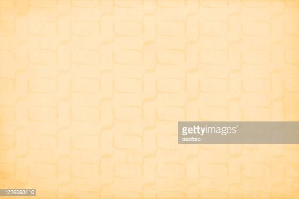 fawn or light brown coloured old grunge backgrounds with small abstract irregular rounded rectangle shaped pattern all over - irregular texturizado stock illustrations