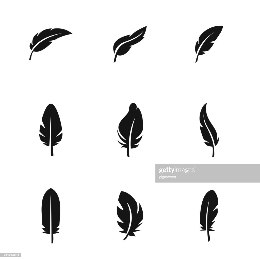 Feather vector icons